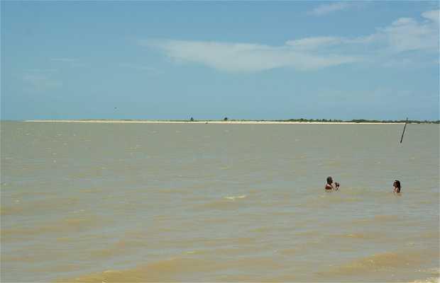 Praia Barra de Caravelas