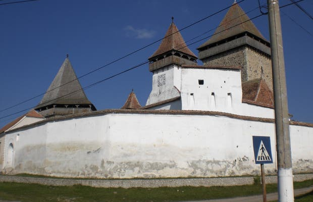 Iglesia fortificada de Homorod