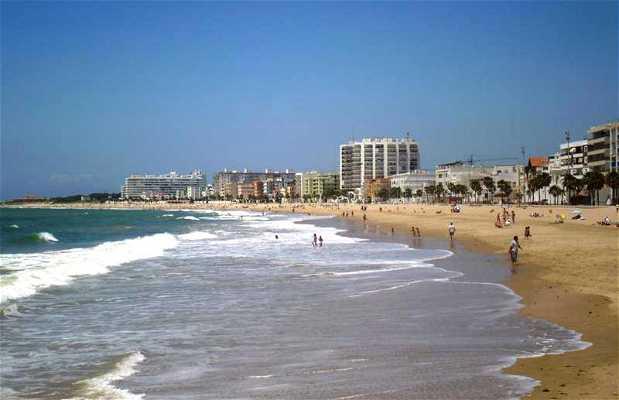 La plage de la Costilla