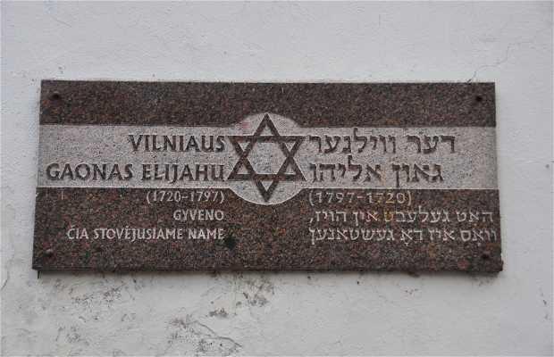 Casa de Elijahu Ben Shlomo Zalman