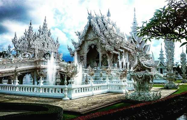 Wat Rong Khun / White Temple di Chang Rai