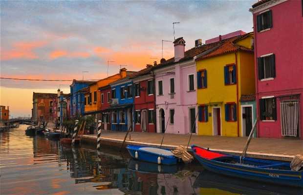 Burano Canal (Fondamenta della Pescheria)