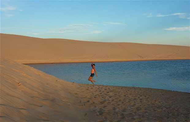Le colline di sabbia a Santa Cruz de la Sierra