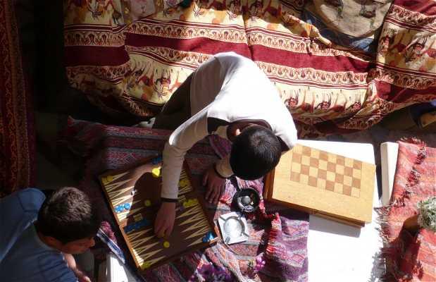 Jogar ao Backgammon