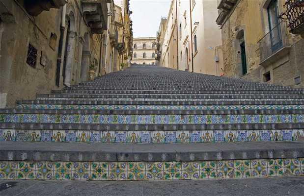 Escalinata de Santa Maria del Monte