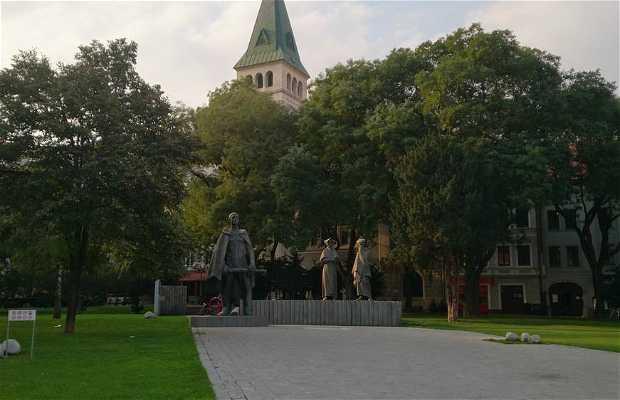 Monumento a la resistencia de la segunda guerra mundial