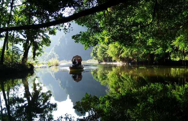 Paseo en barca en Tam Coc