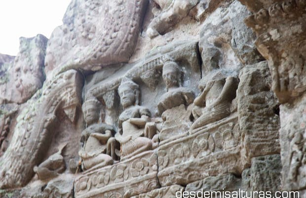Grabados en los templos