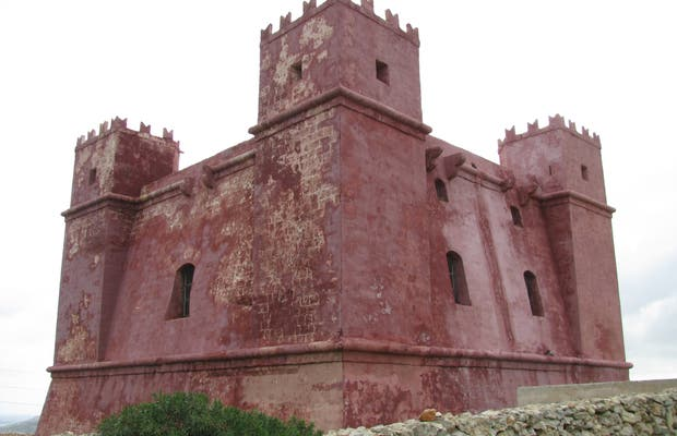 Tour de Santa Ágata (The Red Tower)