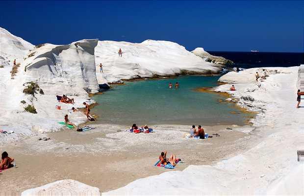 Praias de Milos