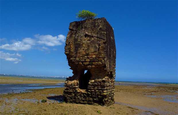 Ruines de porto de Gamboa