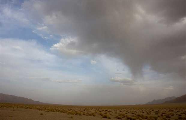 Desierto en Zenoidín