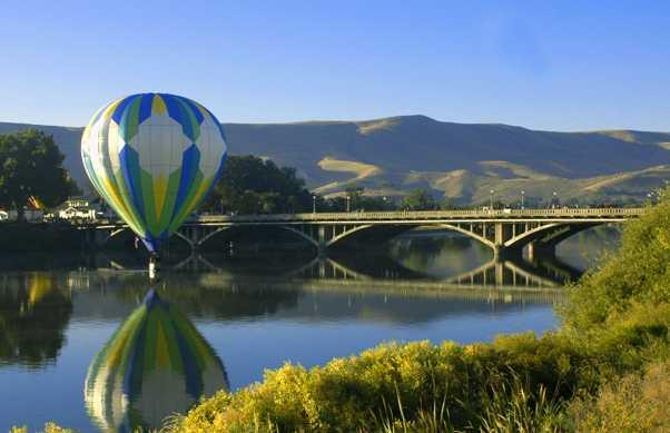 Corrida de balões em Prosser
