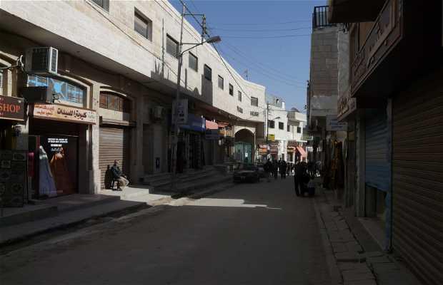 As ruas de Madaba