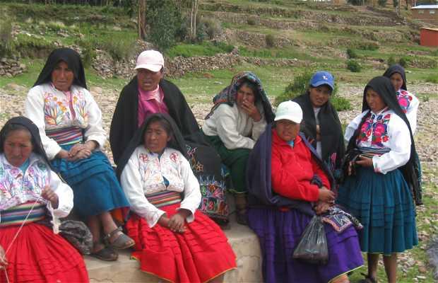 Isola di Amantani in Perù