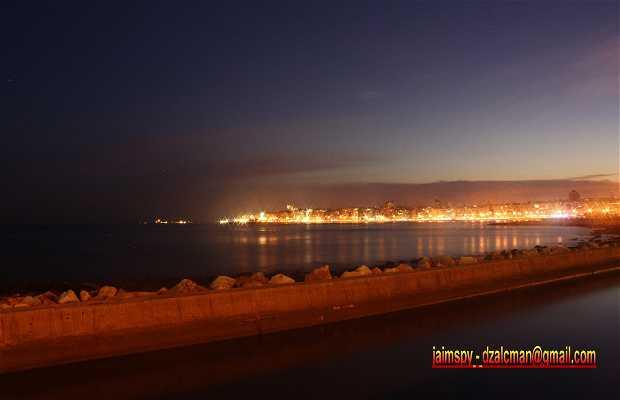 Rambla of Montevideo