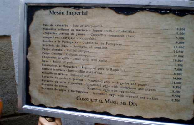 Mesón Imperial Restaurant