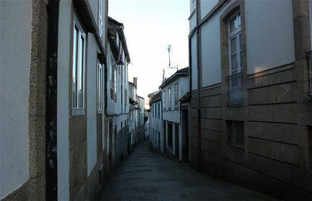 Rua de Entremuros a Santiago de Compostela