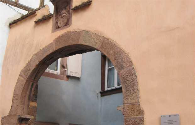 L'ancien manoir d'Etienne de Bavière