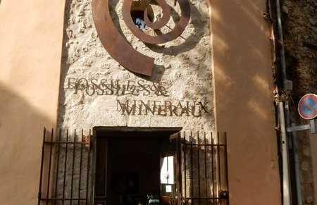 Il Museo dei Fossili e dei Minerali a Bargemon