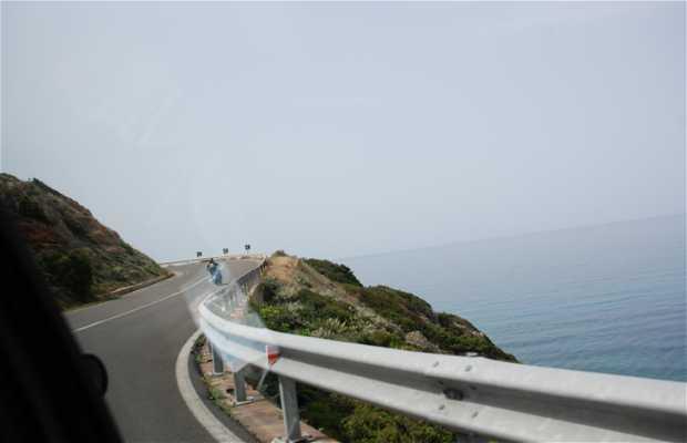Carreteras en Cerdeña
