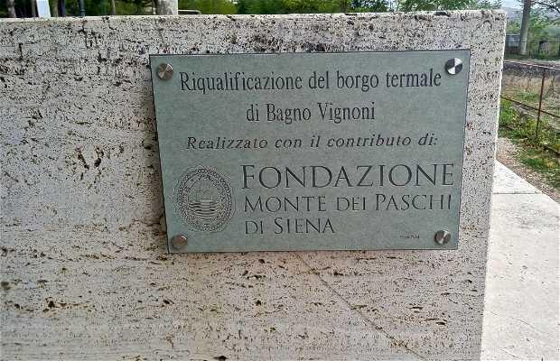 "Yacimiento Arqueológico ""Parco dei Mulini""- Bagno Vignoni"