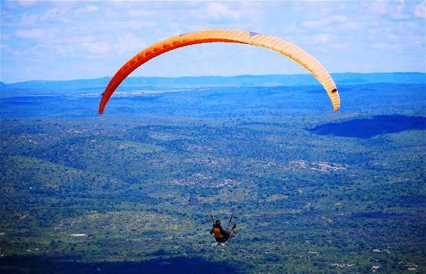Lezioni di volo a La Cumbre