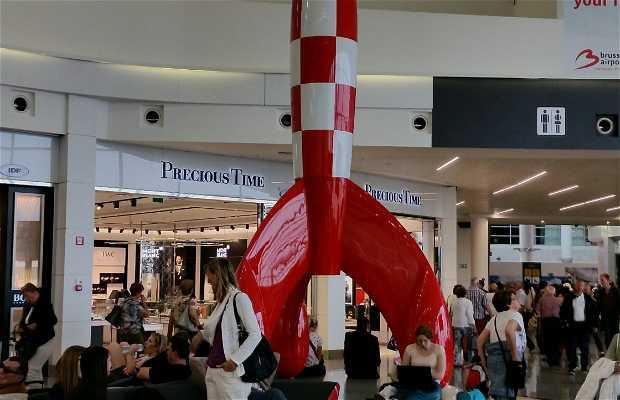 Cohete del aeropuerto de Zaventem