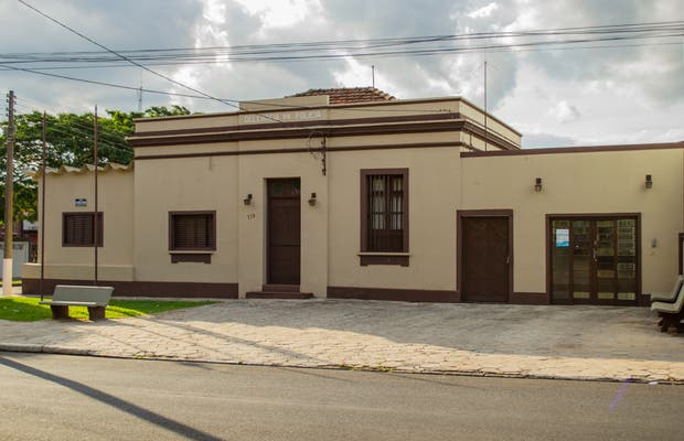 Sede histórica da Delegacia de Polícia de Artur Nogueira