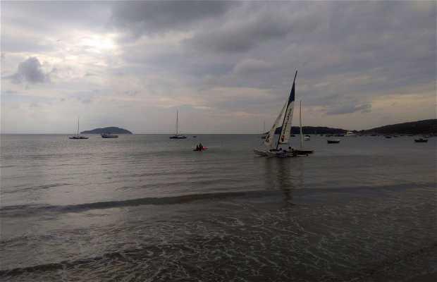 Windsurf na Praia de Manguinhos