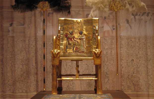 Exposición Tutankhamón: La Tumba y sus tesoros