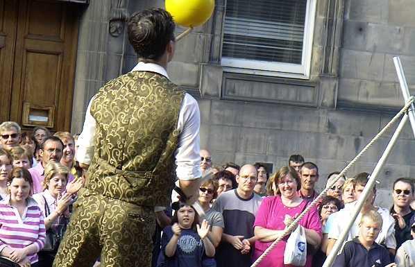 Fringe, teatro alternativo en Edimburgo