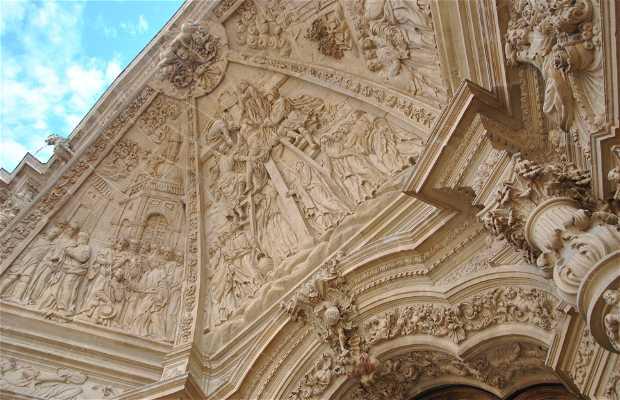Fachada de la catedral Santa María