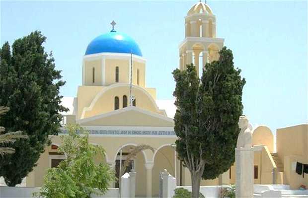 Iglesias de Santorini