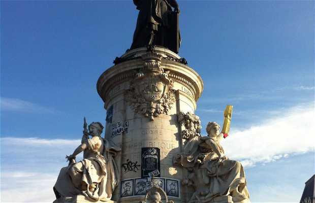Monumento de la plaza de la República