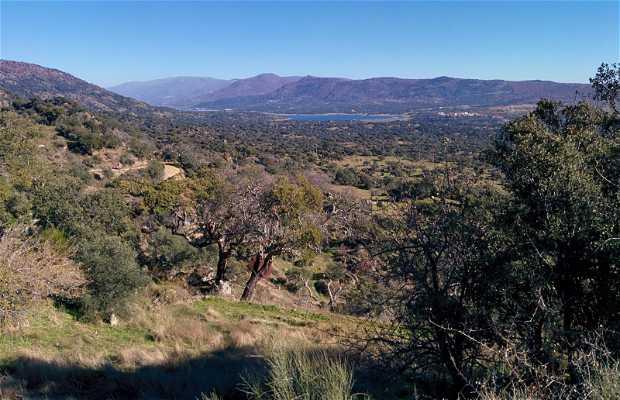 Vistas del Valle del Jerte
