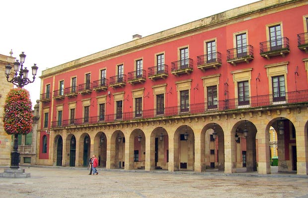 Plaza Mayor de Gijon