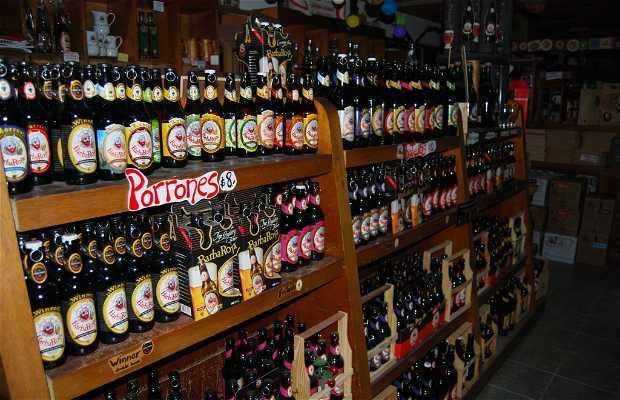 Barba Roja, tienda de cervezas artesanales
