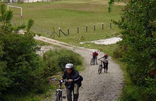 Bicicleta en Chidhuapi