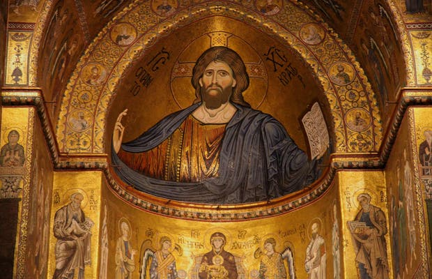Christ Pantocrator de Monreale