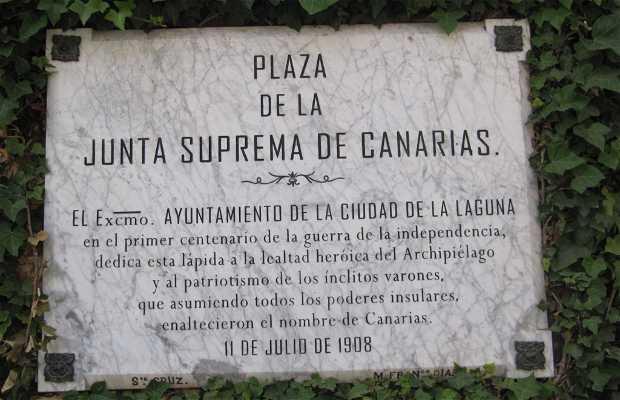 Place de la junta Suprema de Canarias