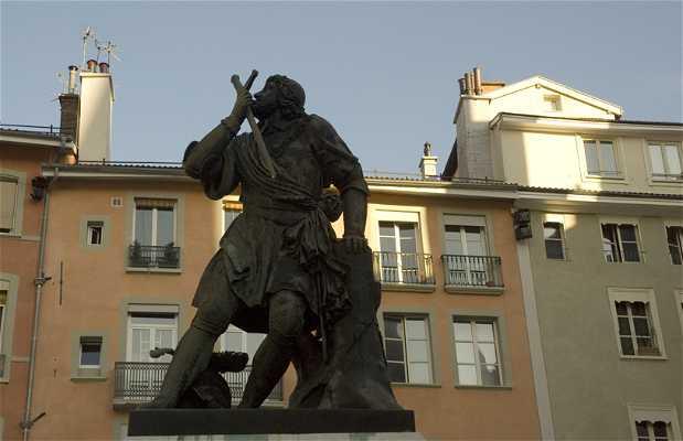 Chevalier Bayard Sculpture