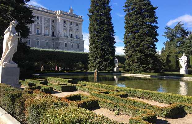 Jardins de Sabatini au Palais Royal