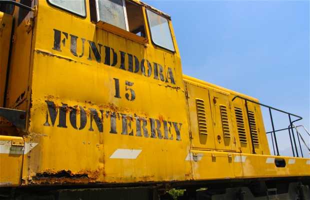 Vagones de tren de la Ex Fundidora de Monterrey