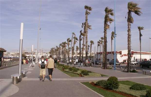 Calçadão La Corniche