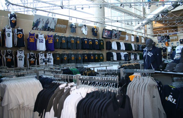 buy popular 4f865 ca835 Utah Jazz Shop in Salt Lake City: 2 reviews and 5 photos