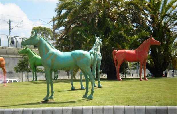 Horses Roundabout