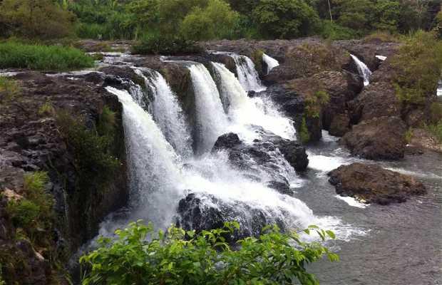 Papantla falls