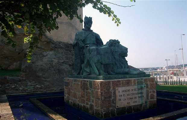 Statue de Sancho IV