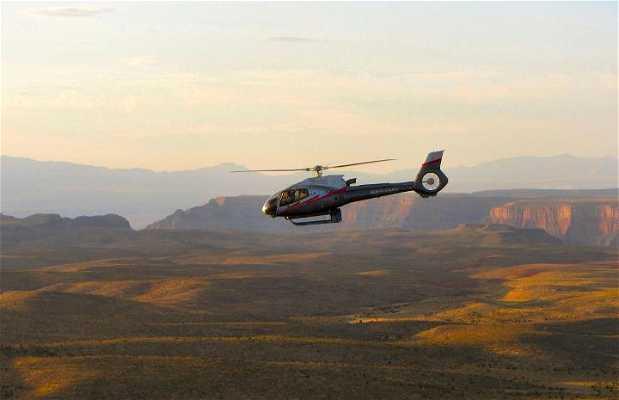 Grand Canyon em helicóptero